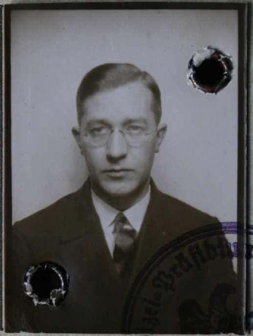 Walter Galka (Passfoto, ca. 1933