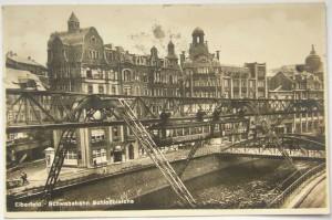 09.07.1931 - Schwebebahn Wuppertal (Postkarte)